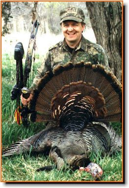 The Turkey Pro With A Nice Gobbler