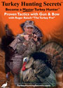 "TurkeyHuntingSecrets DVD - Become A Master Turkey Hunter - Proven Tactics with Gun & Bow with Roger Raisch ""The Turkey Pro"""